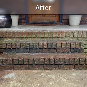 Sinking stairs repaired with PolyLevel® Myrtle Beach