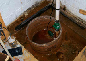 Extreme clogging and rust in a Bennettsville sump pump system