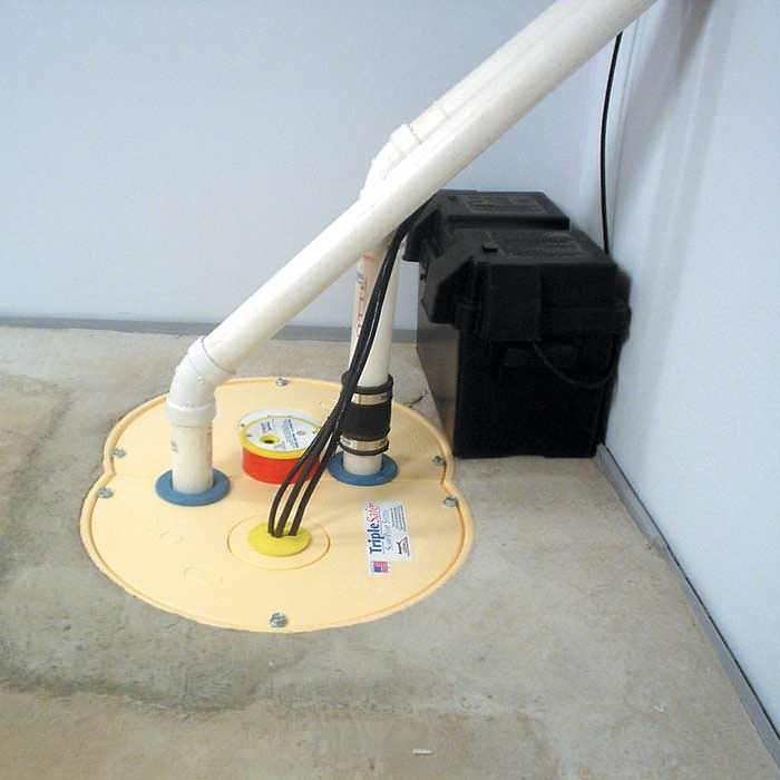 how to clean a sump pump for your sewage system