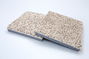 Pro Comfort carpet tile with ThermalDry® Insulated Decking
