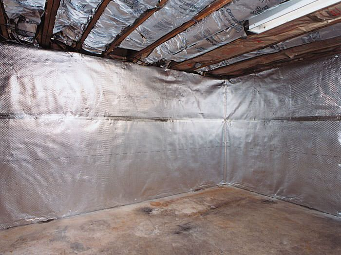 ... An Energy Efficient Radiant Heat And Vapor Barrier For A Little River  Basement Finishing Project Awesome Design